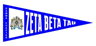 Zeta Beta Tau Wall Pennants