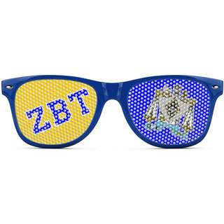 Zeta Beta Tau Wayfarer Style Lens Sunglasses