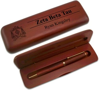 Zeta Beta Tau Wooden Pen Set