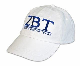 Zeta Beta Tau World Famous Line Hat - MADE FAST!