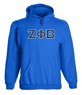 Zeta Phi Beta 2 Day Ship Twill Hooded Sweatshirt