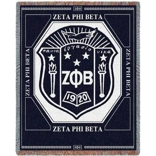 Zeta Phi Beta 2 Layer Blanket