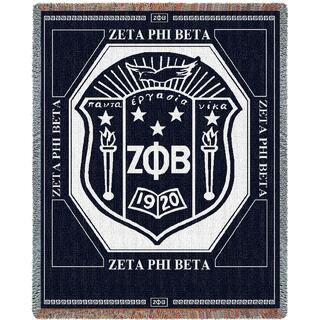 Zeta Phi Beta 2 Layer Blanket
