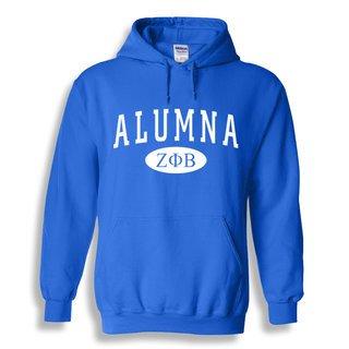Zeta Phi Beta Alumna Sweatshirt Hoodie