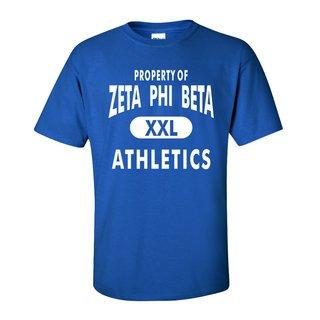Zeta Phi Beta Athletics T-Shirts