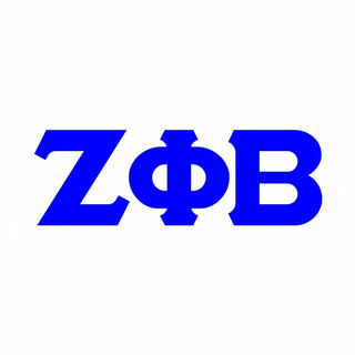 Zeta Phi Beta Big Greek Letter Window Sticker Decal