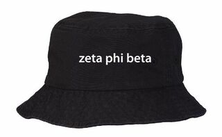 Zeta Phi Beta Bucket Hat