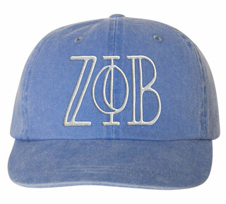 Zeta Phi Beta Carson Greek Letter Hats