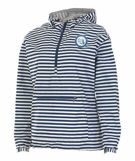 Zeta Phi Beta Dove Seal Chatham Anorak Stripe Print
