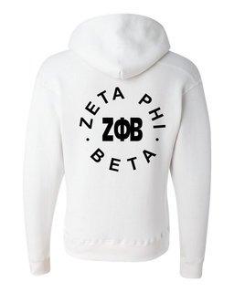 Zeta Phi Beta Circle Hoodie