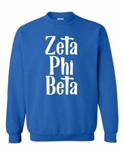 Zeta Phi Beta Comfort Colors Rosie Crew