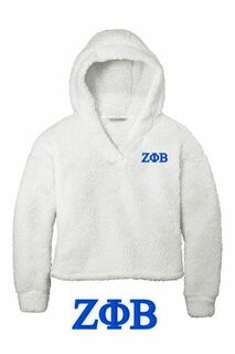 Zeta Phi Beta Cozy Fleece Hoodie