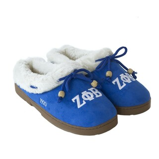 Zeta Phi Beta Cozy Slipper