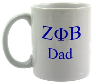 Zeta Phi Beta Dad Coffee Cup