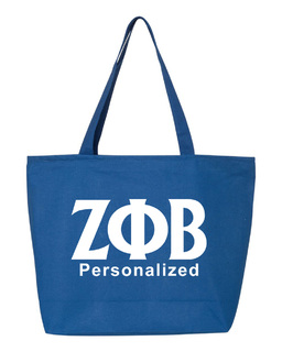 Zeta Phi Beta Design Your Own Tote Bag