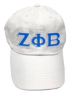 Zeta Phi Beta Double Greek Letter Cap