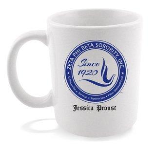 Zeta Phi Beta Dove Coffee Mug