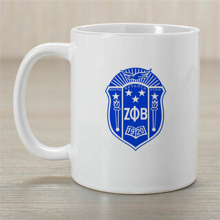Zeta Phi Beta Dove Coffee Mug