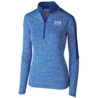 Zeta Phi Beta Electrify 1/2 Zip Pullover