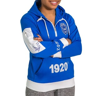 Zeta Phi Beta Elite Hooded Pullover