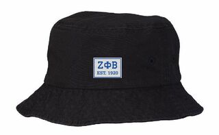 Zeta Phi Beta Est. Box Bucket Hat