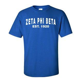 Zeta Phi Beta Est Tee