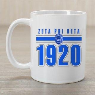 Zeta Phi Beta Established Year Coffee Mug - Personalized!