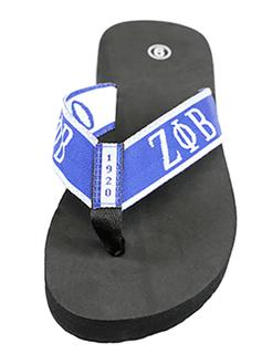 Zeta Phi Beta Flip Flops