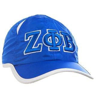 Zeta Phi Beta Greek Featherlight Cap