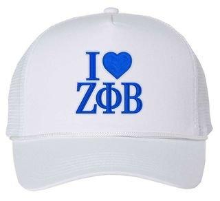 Zeta Phi Beta I Love Hat