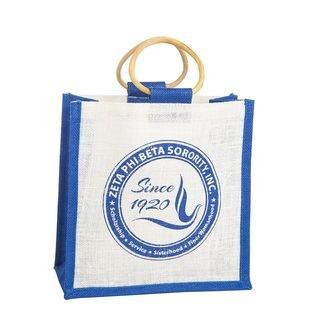 Zeta Phi Beta Jute Bag