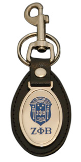 Zeta Phi Beta Key Ring
