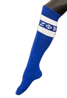 Zeta Phi Beta Knee Socks