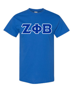 Zeta Phi Beta Lettered Shirts