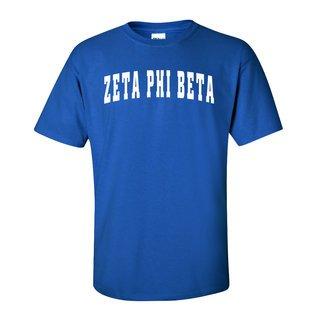 Zeta Phi Beta Letterman T-Shirts