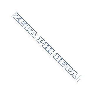 Zeta Phi Beta Long Window Decals Stickers