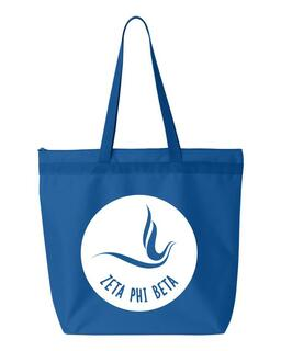 Zeta Phi Beta Mascot Tote Bag