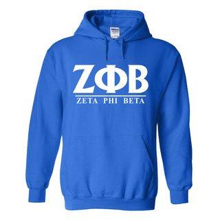 Zeta Phi Beta Message Hooded Sweatshirts