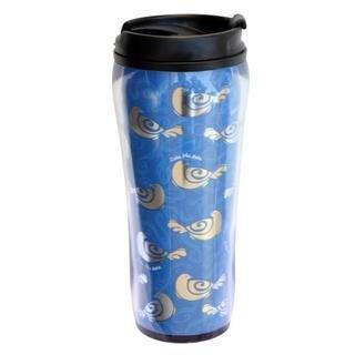Zeta Phi Beta Metallic Travel Mug