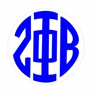 Zeta Phi Beta Monogram Decal