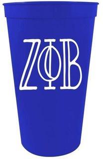 Zeta Phi Beta Carson Giant Plastic Cup