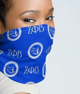 Zeta Phi Beta Neck Gaiters