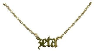 Zeta Old English Necklaces
