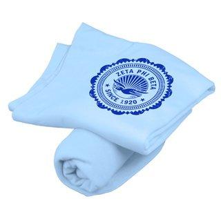 Zeta Phi Beta Old School Seal Sweatshirt Blanket