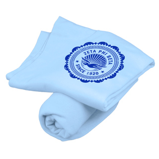 Zeta Phi Beta Old School Seal Sweatshirt Blanket