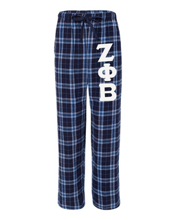 Zeta Phi Beta Pajamas -  Flannel Plaid Pant