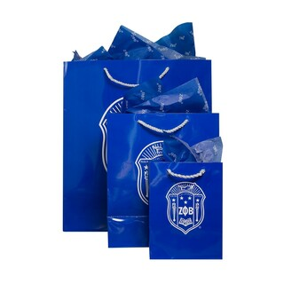 Zeta Phi Beta Paper Gift Bag Set