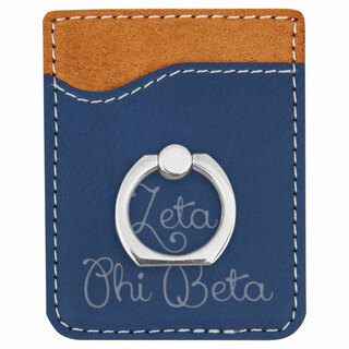 Zeta Phi Beta Phone Wallet with Ring