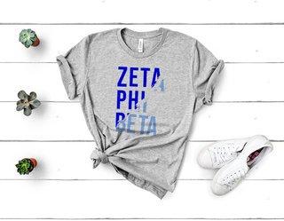 Zeta Phi Beta Ripped Favorite T-Shirt