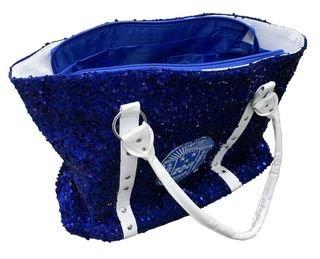 Zeta Phi Beta Royal Sequin Tote Bag
